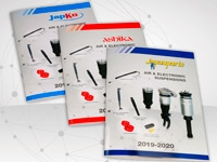 New air & electronic suspensions catalogues