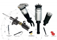 Complete range of traditional suspensions and air & electronic suspensions available for sales